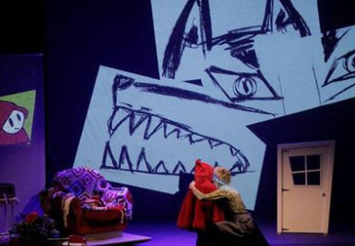 Cappuccetto e la nonna uno spettacolo per bambini da 3 a 8 anni al Teatro Verde