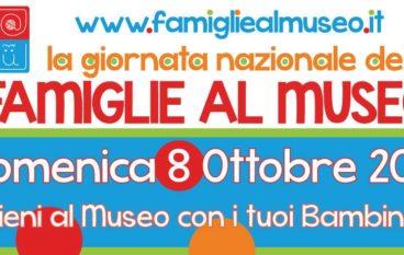 Il Programma della Giornata Nazionale delle Famiglie al Museo 2017