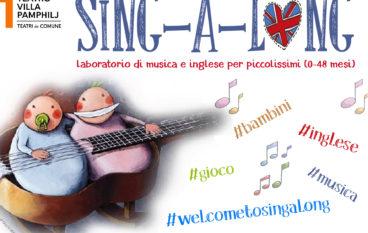 Sing a long live laboratorio di musica in inglese per bimbi da 0 a 4 anni