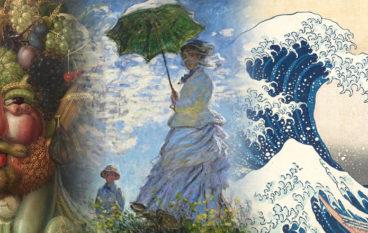Natale a Roma le visite guidate per bimbi: Monet, Hokusai e Arcimboldo