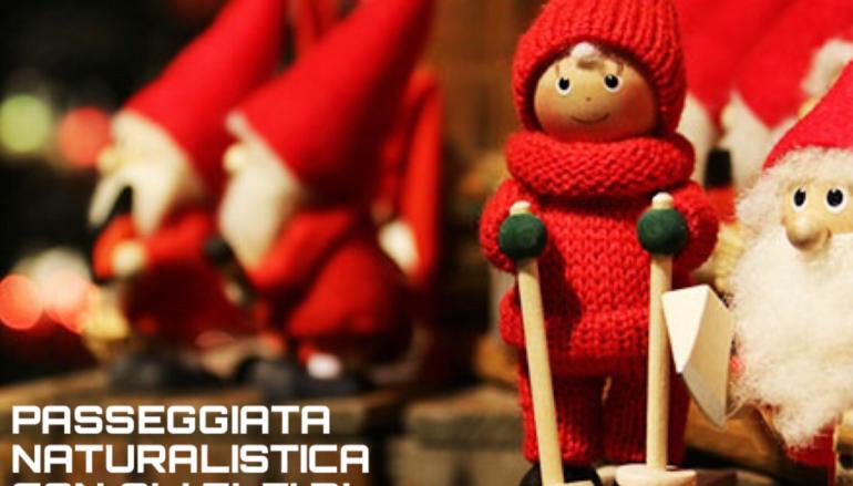 AL Parco di Tor fiscale passeggiata con gli Elfi di Babbo Natale.