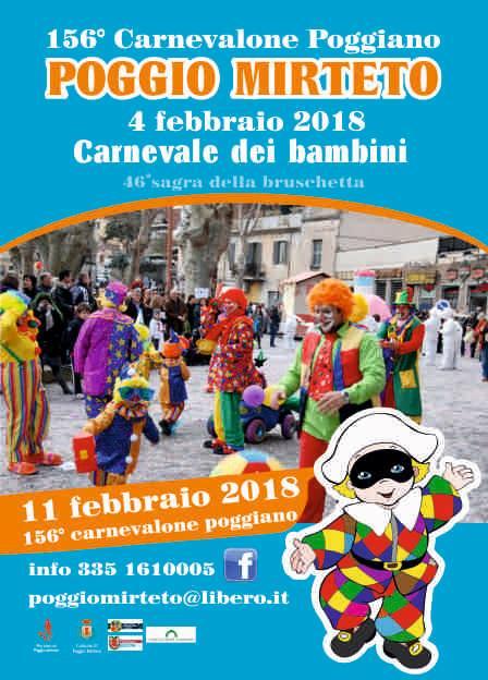 Carnevale dei Bambini Poggio Mirteto