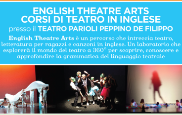 CORSI ENGLISH THEATRE ARTS  Di GYMBOREE PLAY & MUSIC al TEATRO PARIOLI