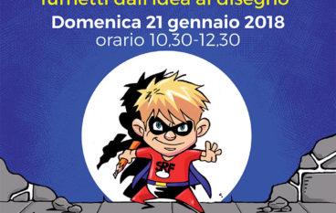 Laboratorio Comics Junior per bambini dai 9 agli 13 anni
