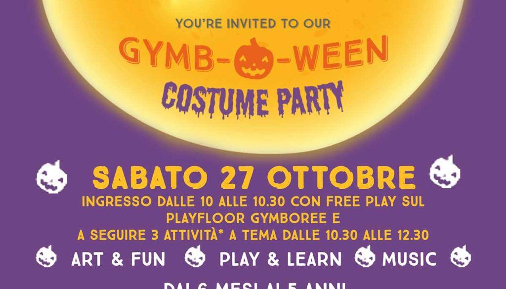 Festa Di Halloween A Roma.Gymboween Costume Party La Festa Di Halloween Per Bambini Dai 6