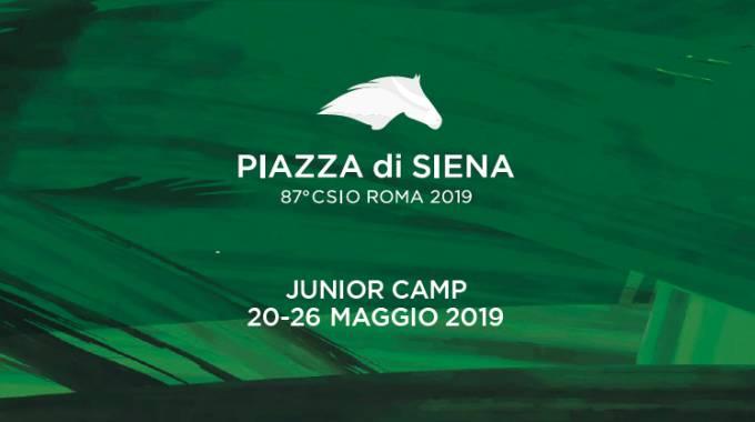 42033e542dd5 Casina di Raffaello Piazza di Siena Junior camp dal 21 al 26 maggio
