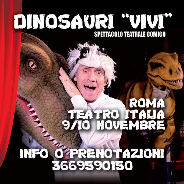Dinosauroshow spettacolo per bambini