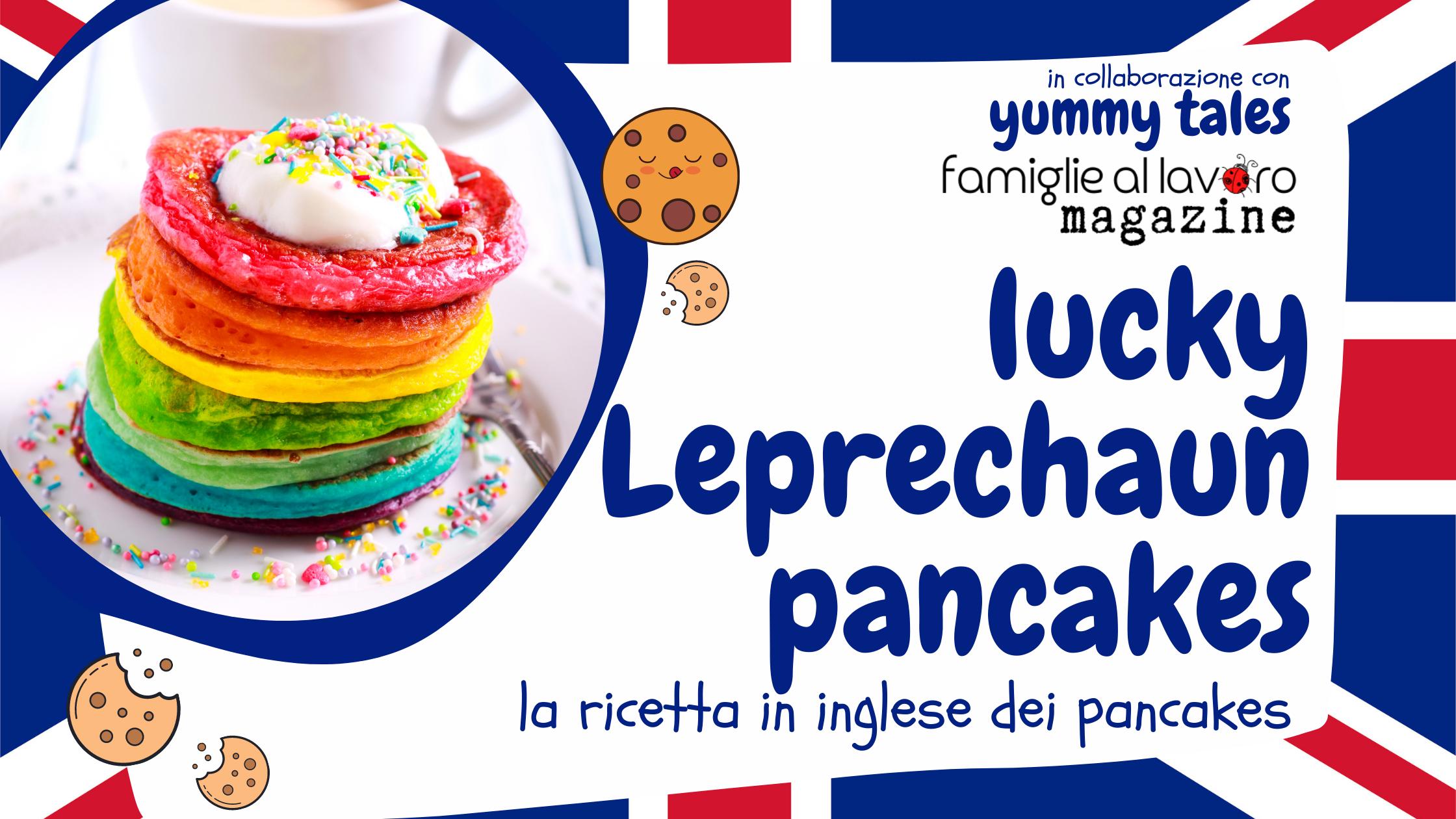 lucky leprechaun pancakes color arcobaleno
